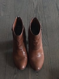 Pair of camel leather boots Calgary, T3R 0P5