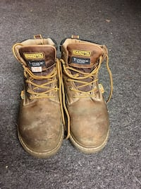 DAKOTA steel toe boots size 9 men- Canada imported Manassas, 20110
