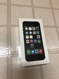 IPHONE 5S 16GB NEW UNLOCK TO ALL CARRIERS. NEW WITH SEAL PLASTIC BOX WAS OPEN TO TAKE PHOTOS. Gaithersburg, 20877