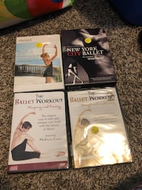 Ballet stretch and workout dvds Tacoma, 98404