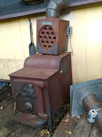 Antique Woodland Stove WITH Magic Heat Reclai Sioux Falls, 57104