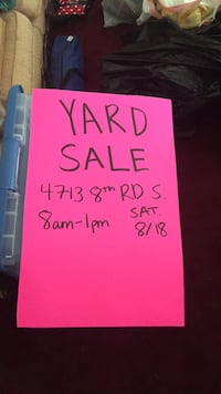Yard sale Arlington, 22204