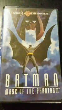 Batman Mask of the Phantasm VHS New Westminster, V3M 3Y3
