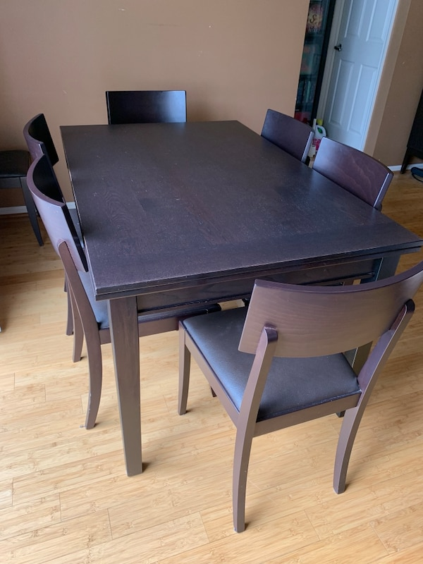 Crate And Barrel Dining Table Chairs
