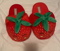 Strawberry Slippers Size 9 Vancouver, V5S 2R7