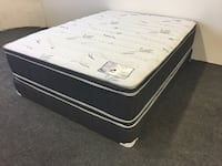 Queen Double Sided Pillow Top Set  Torrance