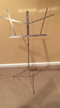 stainless steel music notes tripod