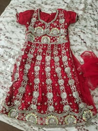 red and white floral sleeveless dress Markham, L6G 1C3