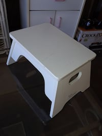 white wooden center table
