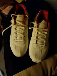pair of white-and-red Nike sneakers Wisconsin Dells, 53965