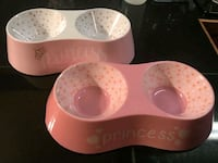 Princess Dog Bowls