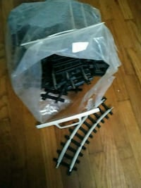 black-and-white plastic train track play set Galesburg, 49053