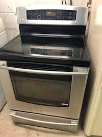 Flattop electric stove stainless and black  Taneytown, 21787