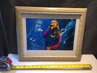 Chris Robinson BLAC CROWS SIGNED ORIG PHOTO COLLAGE LIMITED ED Palatine, 60067