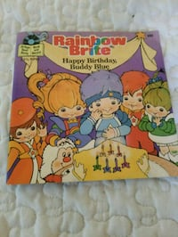 Rainbow Brite book and record Knoxville