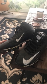 Nike Cleats  *size 12* Wake Forest, 27587