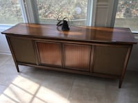 Mid century media console with radio and record player Silver Spring, 20901