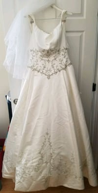 Embrodiered wedding dress  McLean, 22102