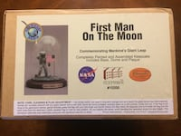 first man on the moon commemorating mankind giant leap