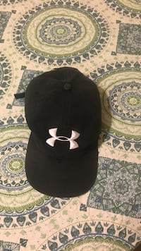 black Under Armour fitted cap