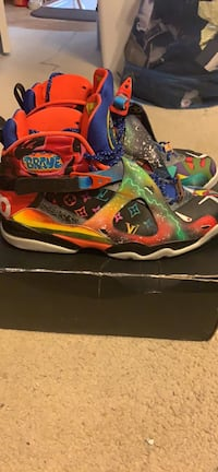 Custom db8 Jordan size 13 for sale worn 1 time  Upper Marlboro, 20774