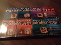 Friends DVD series collection 1-8 only 2 discs missing Toronto, M4G