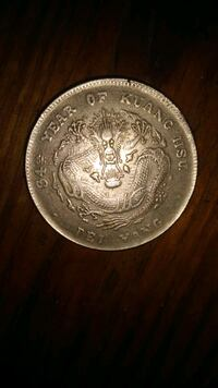 round silver-colored coin Galloway, 43119