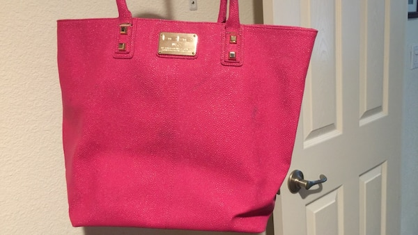 52d6f0b75c73 Used Bebe Women s pink tote bag for sale in American Canyon - letgo