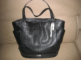 ***COACH PARK LEATHER NORTH/SOUTH TOTE F23662)***