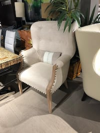 white and gray fabric padded armchair Long Beach, 90802