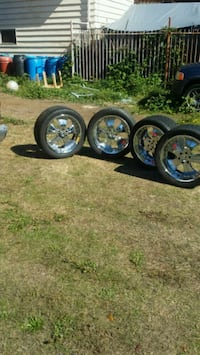 22 inch rims and tires Seattle, 98118
