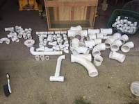 OBO  PVC Assorted Plumbing Parts   Must take all  Norfolk