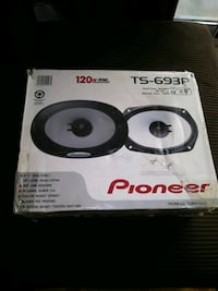 Pioneer 6x9 car speakers new in box Mississauga, L5A