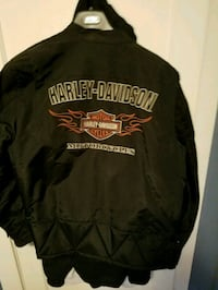 black and red Harley Davidson jacket Windham, 06280