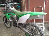 green and white motocross dirt bike Paso Robles, 93446