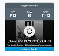 Beyonce and Jay Z tickets San Diego, 92104