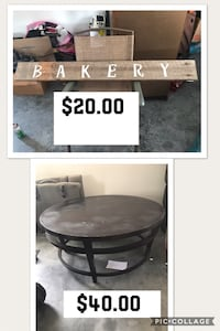 brown wooden round table and bakery signage Spring City, 37381