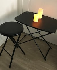 black wooden table with chairs Henderson, 89074