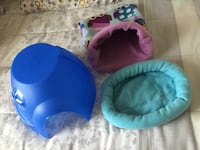Pet Dome, Bed, wooden tunnel and Snuggle Sack! New All for $40 Mississauga
