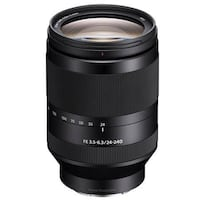 Sony FE 24-240mm F3.5-6.3 OSS E-Mount Camera Lens MFR: SEL24240