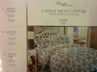 3-piece Bamboo Home luxury duvet cover box
