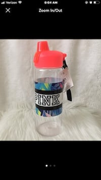 NWT VS Pink Water Bottle  Pollock, 71467
