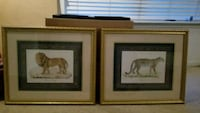 Framed art - 4 pieces  Acworth, 30101