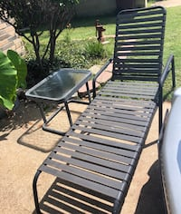 Two chaise lounge chairs with matching table Royse City, 75189