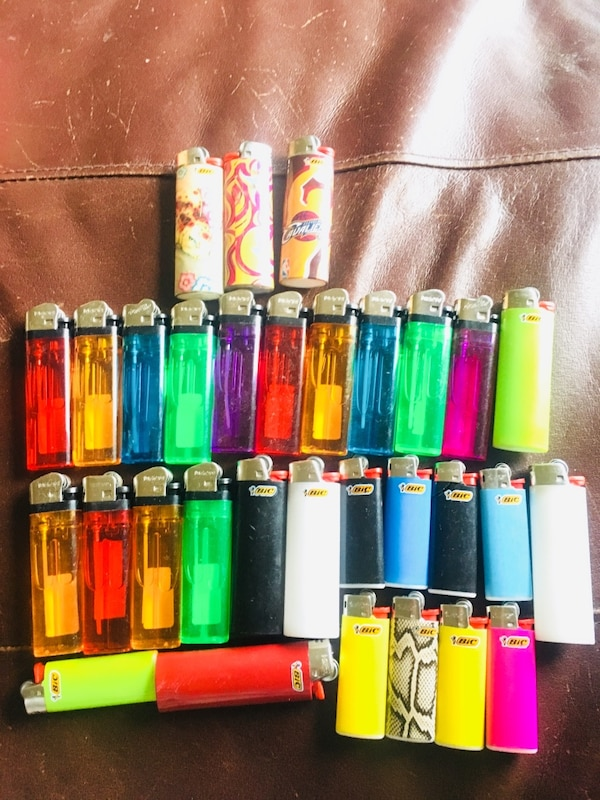 Assorted lighters 30 quantity for 10$