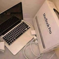 MacBook Pro with box