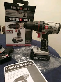 black and red Porter Cable cordless drill Cockeysville, 21030