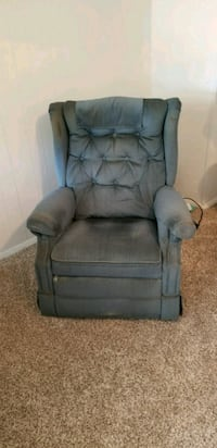 gray fabric recliner sofa chair Silver Spring, 20906
