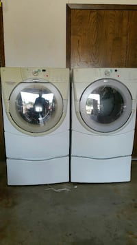 Whirlpool Duet Washer and Gas Dryer