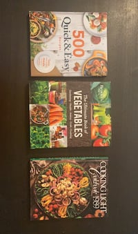 Cooking books like new